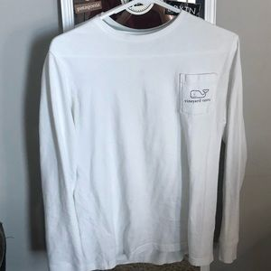 White Vineyard Vines Long Sleeve